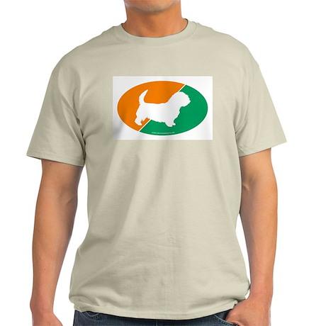 Ireland Flag Glen Ash Grey T-Shirt