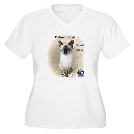 Pixie - Kindness is a light Plus Size T-Shirt