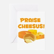 Praise Cheesus! Greeting Cards (Pk of 20)