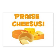 Praise Cheesus! Postcards (Package of 8)