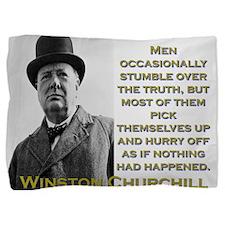 Men Occasionally Stumble - Churchill Pillow Sham