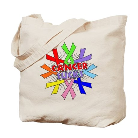 All Cancers Suck Tote Bag
