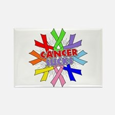 All Cancers Suck Rectangle Magnet