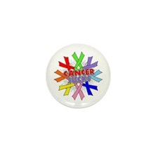 All Cancers Suck Mini Button (10 pack)