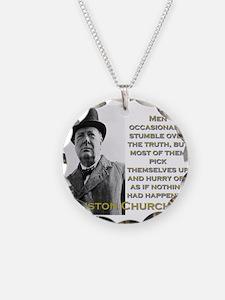 Men Occasionally Stumble - Churchill Necklace