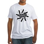 Carcinoid Cancer Sucks Fitted T-Shirt