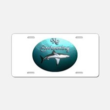 shark.tif Aluminum License Plate