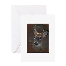 deer.tif Greeting Card
