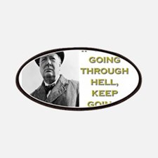 If Youre Going Through Hell - Churchill Patch
