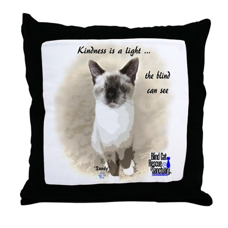 Pixie - Kindness is a light Throw Pillow