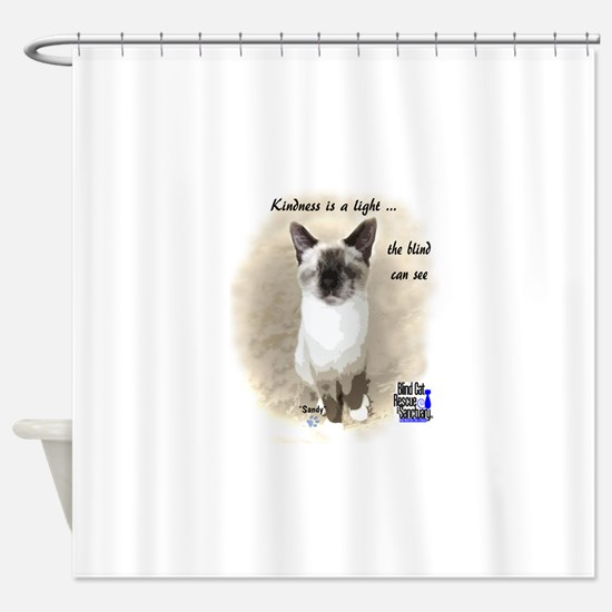 Pixie - Kindness is a light Shower Curtain