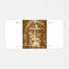 Funny Catholic faith Aluminum License Plate