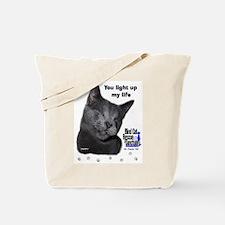 Poppy - light up my life Tote Bag