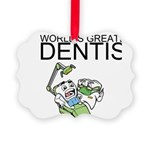 Worlds Greatest Dentist Ornament