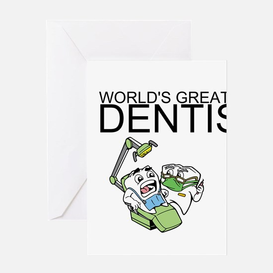 Worlds Greatest Dentist Greeting Card