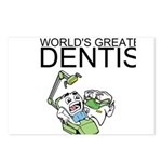 Worlds Greatest Dentist Postcards (Package of 8)