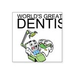 Worlds Greatest Dentist Sticker