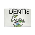 Worlds Greatest Dentist Rectangle Magnet (10 pack)