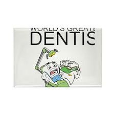 Worlds Greatest Dentist Rectangle Magnet
