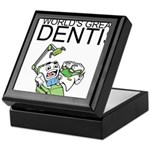 Worlds Greatest Dentist Keepsake Box