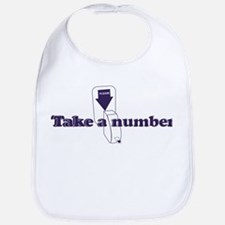 Take A Number Bib