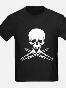 Skull with Trombones T-Shirt