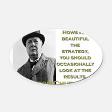 However Beautiful The Strategy - Churchill Oval Ca