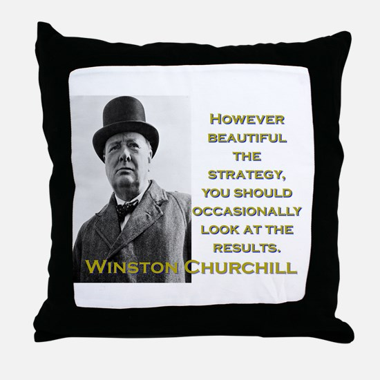 However Beautiful The Strategy - Churchill Throw P