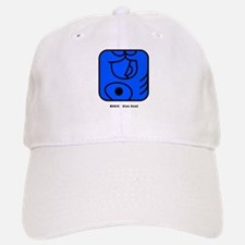 Blue Hand Baseball Baseball Cap