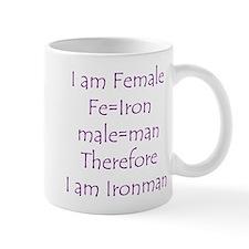 FemaIe Ironman Mug