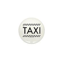 TAXI cab Mini Button (10 pack)