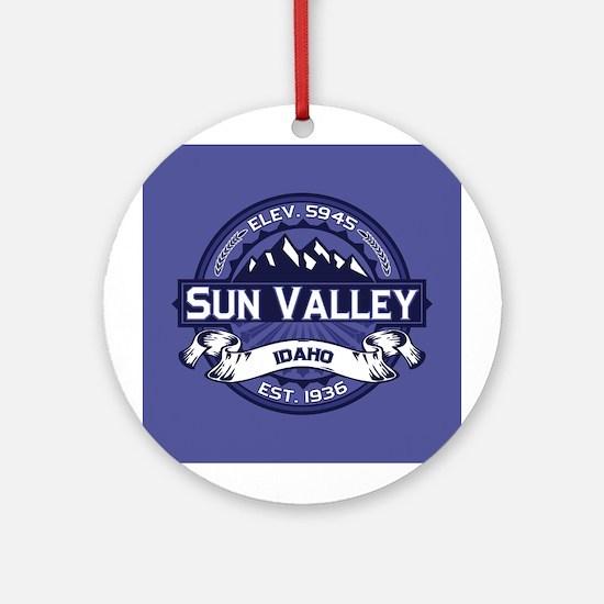 Sun Valley Midnight Ornament (Round)
