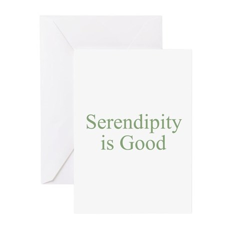 Serendipity is Good Greeting Cards (Pk of 10)