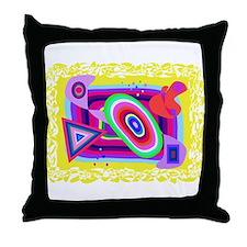 Various Shapes Throw Pillow