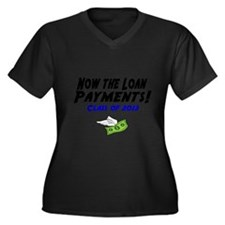 Now the loan payments! Class of 2013 Plus Size T-S