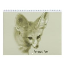 Fennec Fox Wall Calendar