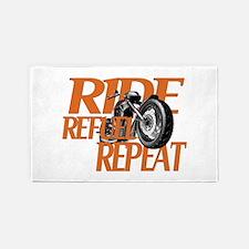 Ride, Refuel, Repeat 3'x5' Area Rug