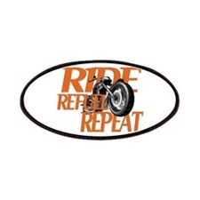 Ride, Refuel, Repeat Patches