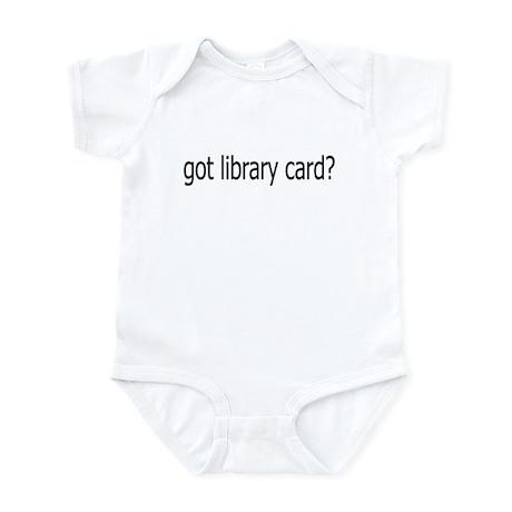 got card? Infant Bodysuit