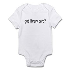 got card? Infant Bodysuit