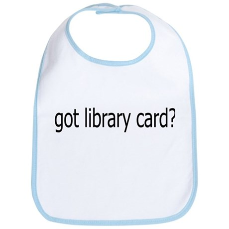 got card? Bib