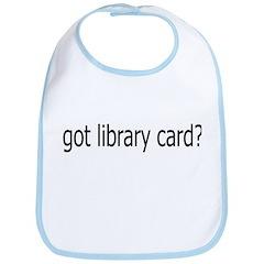 got card? Bib