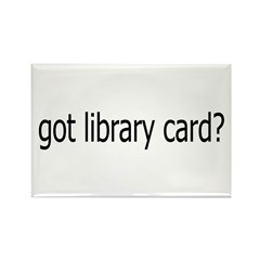 got card? Rectangle Magnet (100 pack)