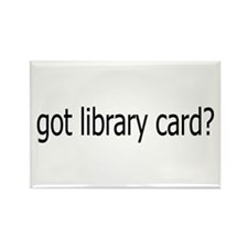 got card? Rectangle Magnet