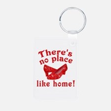 No Place Like Home Ruby Slippers Keychains
