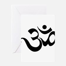 yoga1light Greeting Cards