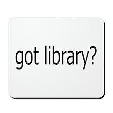got library? Mousepad