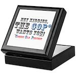 GOP=Greedy Old Pervert Keepsake Box