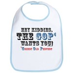 GOP=Greedy Old Pervert  Bib