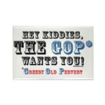 GOP=Greedy Old Pervert Rectangle Magnet